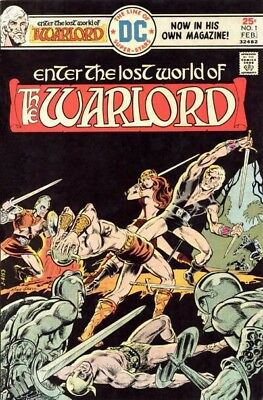 Us Comics The Warlord #1-133 Complete Sword And Sorcery Digital Collection