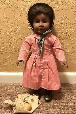 """Pleasant Company Retired Addy 18"""" American Girl Doll Original Outfit & Extras"""