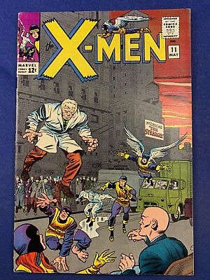 X-Men #11 (1965 Marvel) 1st appearance of The Stranger Silver Age NO RESERVE
