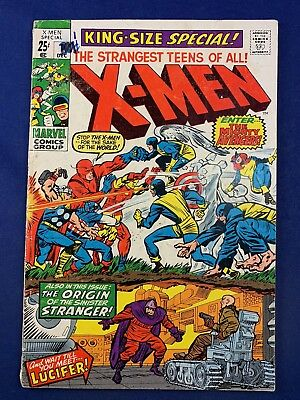 X-Men Annual #1 Marvel Comics Avengers appearance Silver Age NO RESERVE