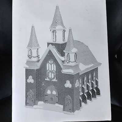 Dept 56 Snow Village®  ST. LUKES CHURCH - BRAND NEW NEVER DISPLAYED