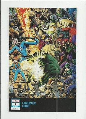 Fantastic Four #2 (2018) Arthur Adams Variant Cover near mint- (NM-) condition
