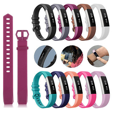 Fitbit Alta Alta HR Strap Secure Band Sports Wristband Buckle Bracelet Silicone