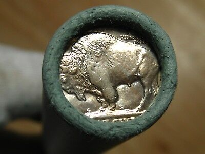 (ONE) BoA SF Buffalo Nickel Roll S-Mint Ends 40 Coins - 1913 1938 P D S