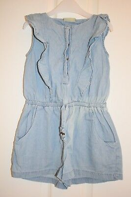 NEXT Girls Cute Shorts Playsuit Size 5 Years - Grab A Bargain @ 99p only !