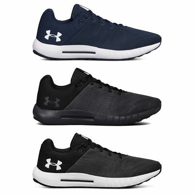 Under Armour Mens 2018 UA Micro G Pursuit Running Gym Trainers 7-12 RRP £50