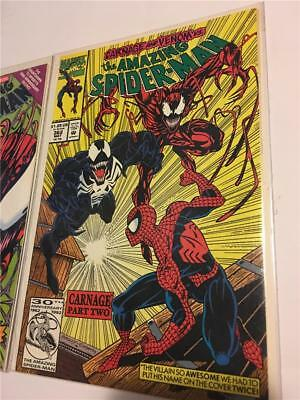 Amazing spiderman 362 363 High grade