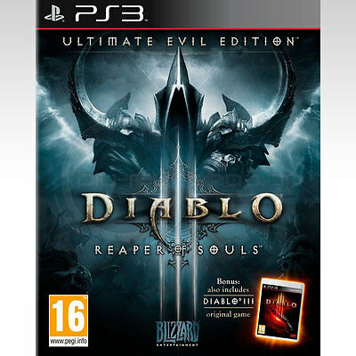 Diablo 3 III Reaper Of Souls Ultimate Evil Edition Ps3 (Leer Anuncio)