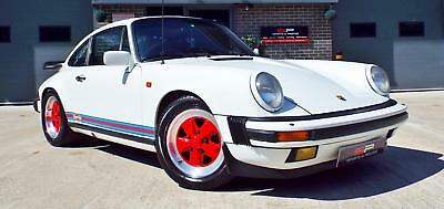 1984 Porsche 911 3.2 Carrera Sport Coupe Grand Prix White Great Example!