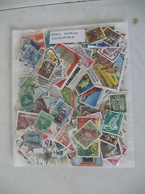 Special Offer, 250+ World Stamps, Off Paper , Unsorted,