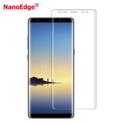 2x Panzer Folie 3D für Samsung Galaxy Note 9 Display Schutz Folie Cover KLAR