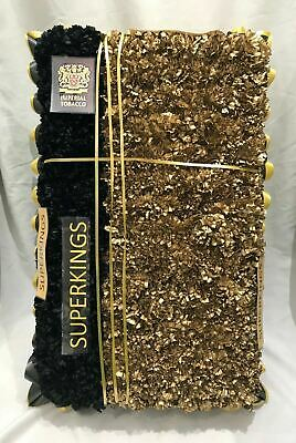 Artificial Silk Funeral Flowers Cigarette Wreath Tribute Smokers Memorial Fags