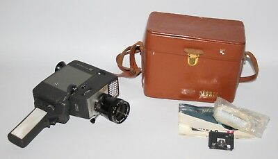 Yashica 8 U-Matic - Vintage Standard 8mm Movie Camera in Case - working