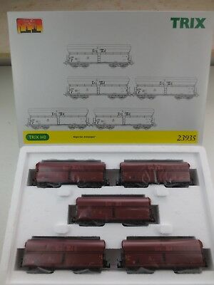"Trix 23935 - Wagen-Set "" Erztransport "" , Spur H0 in OVP"
