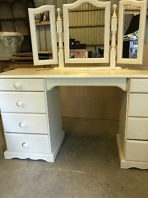 Vintage Painted Dressing Table