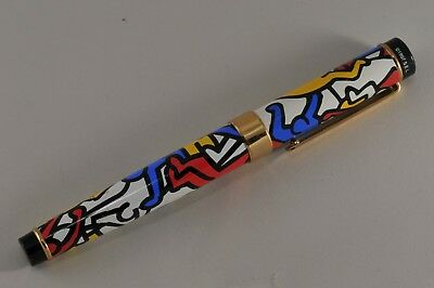 Acme Keith Haring Artist Themed Quality Made 1997 S.e.l. Ballpoint Pen