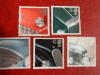 gb stamps s g 1945-1949. Classic Sports Cars.