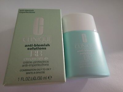 Clinique Anti-Blemish Solutions Bb Cream Spf 40 Medium Deep 30Ml (Skin 3 Or 4)