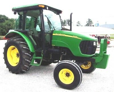 2008 John Deere 5225 Tractor Cab-Heat-Air -------Ships @ $1.85 per loaded mile.
