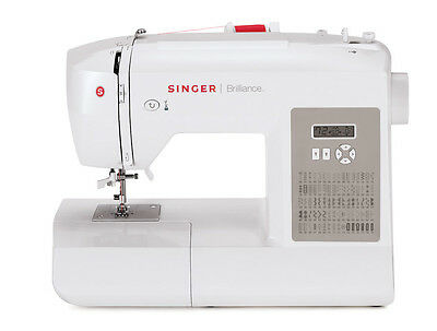 Maquina Coser Singer Brilliance 6180 Pantalla Digital Lcd Electronica Costura