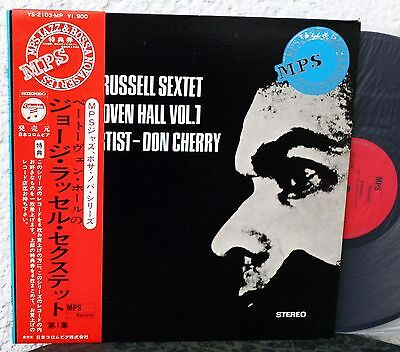 MPS JAPAN  GEORGE RUSSELL SEXTET - At Beethoven Hall Vol. 1 mint LP DON CHERRY