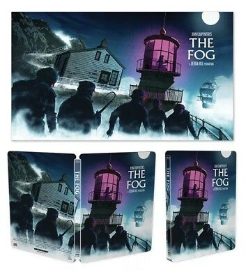Scream Factory Lithographs Set | The Fog, They Live, and Escape From New York