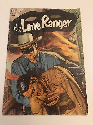 The Lone Ranger #49 (1952 Dell).  Solid complete.  Good