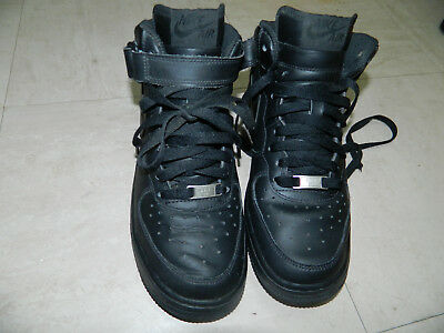 Nike Air Force 1 Trainers Men's Shoes UK 5.5 Black