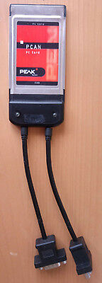 Peak System PCAN-PC Card CAN-Interface IPEH-002091 Zweikanal