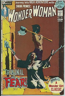 **wonder Woman #199**(Mar 1972, Dc)**classic Jeff Jones Bondage Cover!**fn**hot!