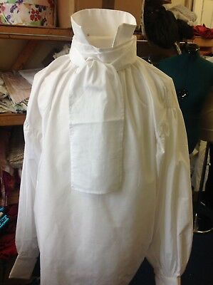 Georgian/ Regency Shirt. xxl