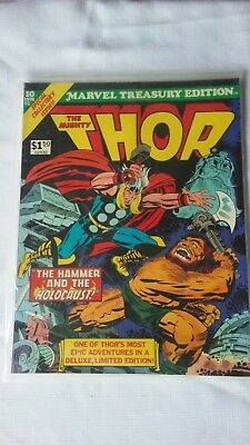 Marvel Treasury Edition 1976 10 Large Comic Book The Mighty Thor
