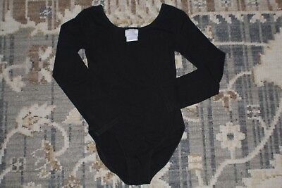 Girls Black Leotard Size 7-8 Dance,Ballet,Gymnastics / Danskin Now