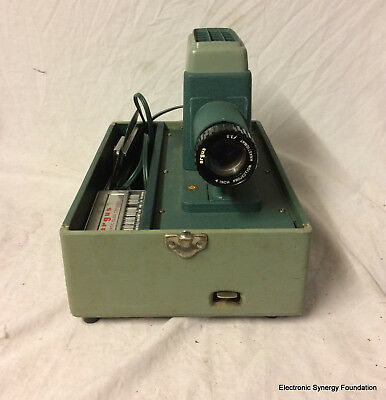 Vintage 1950s-1960s Argus 300 Automatic Slide Changer Projector     INV#SW091976