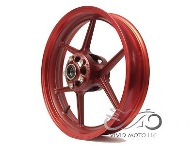 NEW RED FRONT Wheel ZX6R 2005-2017 ZX10R 2006-2010 636 Rim