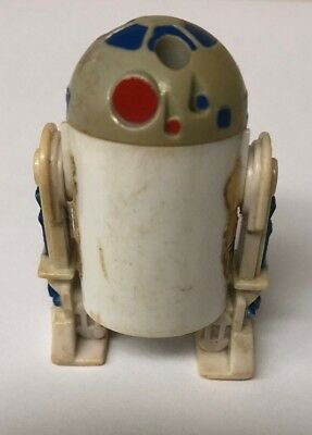 Vintage 1985 Star Wars R2-D2 Droids Animated Pop-Up Figure Poor Condition