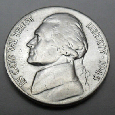 1945 P Jefferson Nickel  *35% SILVER*  **FREE SHIPPING**