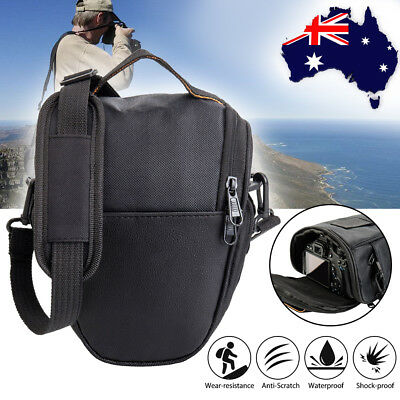 DSLR SLR Camera Bag Shoulder Case Waterproof  For Canon EOS Nikon Sony Panasonic