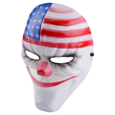 Game Payday 2 The Heist Dallas Mask Halloween Cosplay Props Party Plastic Maske