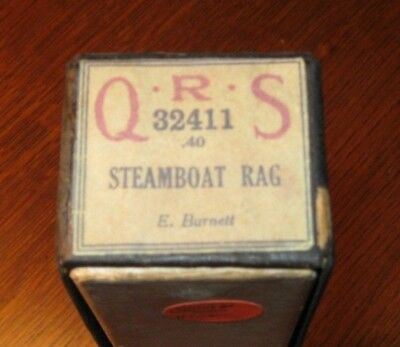 Steamboat Rag  Original Piano Roll 1018