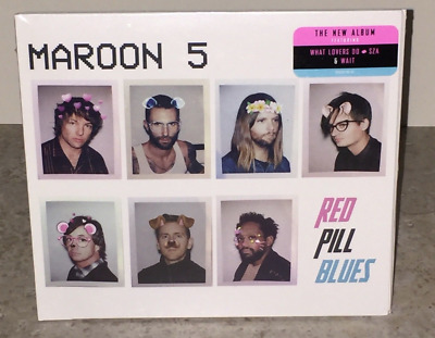 Maroon 5 Red Pill Blues 2017 CD Factory Sealed FREE Fast Shipping!!