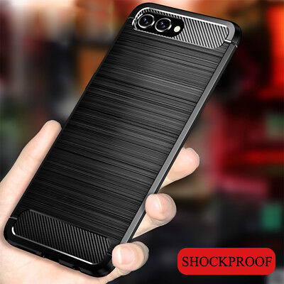 For Huawei Honor Note 10 View10 9 Lite 8X 7A 7S Shockproof Rubber TPU Case Cover