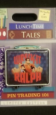 Disney Parks Lunch Time Tales Wreck-It Ralph Pin Trading 101 LE Pin