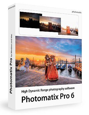 HDR Photomatix Pro 6 EDIT Photo Editing Software FULL ACTIVATED Instant Delivery