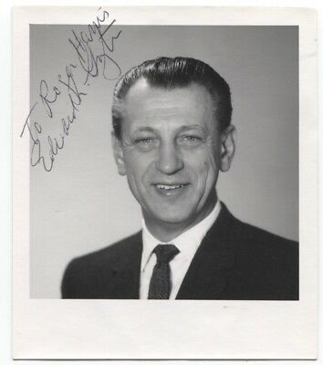 Edward Ginzton Signed Photo Autographed Scientist Engineer