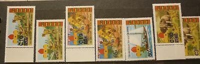 OLD BOY SCOUT GIRL GUIDE STAMP COLLECTION, GHANA SET OF 6 MINT, 75th ANNIV
