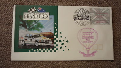 Old Hot Air Balloon Flight Cover, 1991 Australian F1 Gp Flight, Raaf Balloon