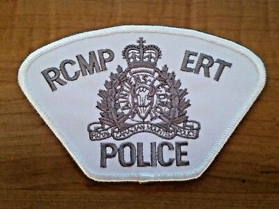 Vintage 1990's RCMP ERT Police Patch - New Old Stock