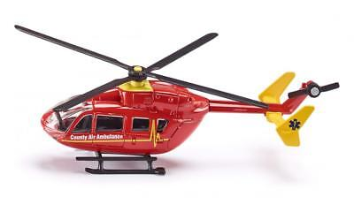 "SIKU SUPER Blister 1647 Helikopter ""County Air Ambulance"" Hubschrauber 1:87 NEU"
