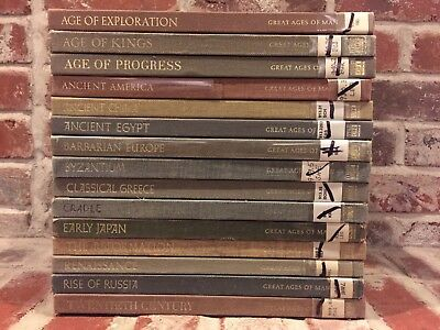 Set of 15 Time Life Great Ages of Man HB Books